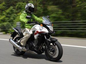 Honda CB400X white