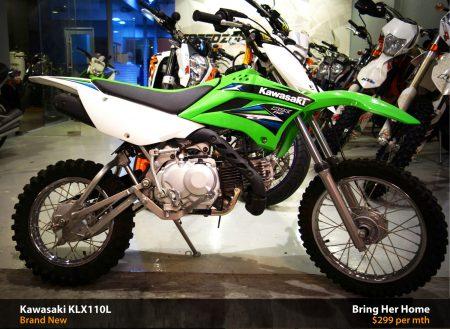 Kawasaki KLX110L 2015 (New)
