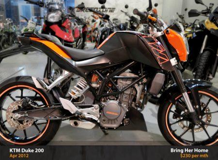 KTM Duke 200 (Used 2012)