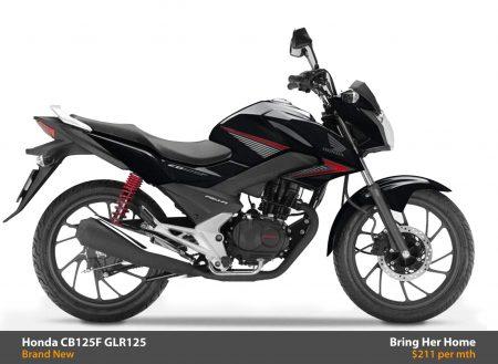 Honda CB125F GLR125 2015