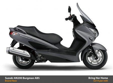 Suzuki AN200 Burgman ABS 2015