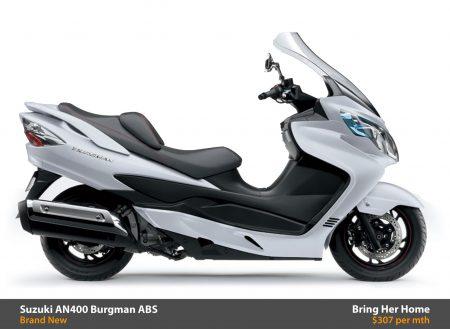 Suzuki AN400 Burgman ABS 2015