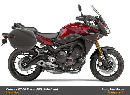 Yamaha MT-09 Tracer ABS Side Case 2015