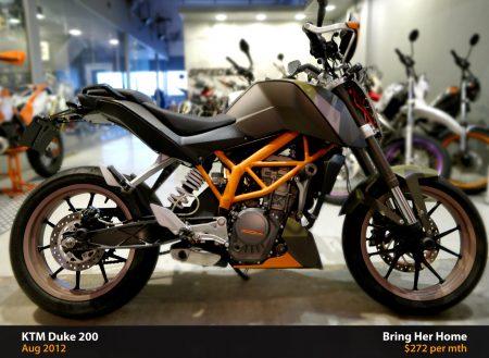 KTM Duke 200 Black (Used 2012)