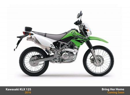 Kawasaki KLX 125 2016 (New)