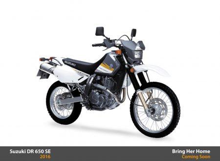 Suzuki DR 650 SE 2016 (New)