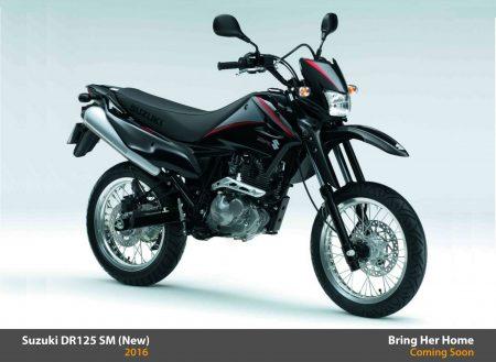 Suzuki DR 125 SM 2016 (New)