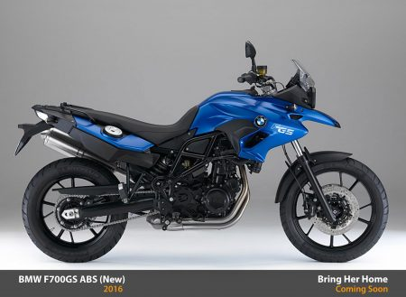 BMW F700GS ABS 2016 (New)