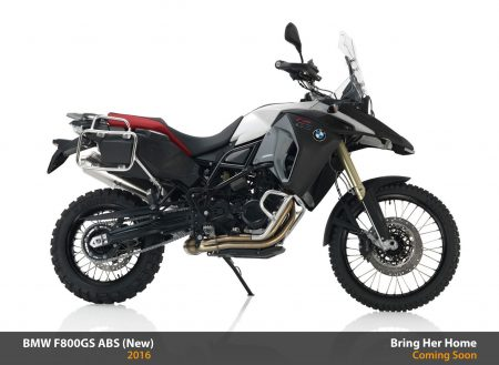 BMW F800GS ABS 2016 (New)