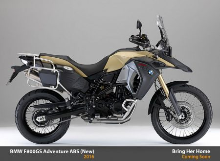 BMW F800GS Adventure ABS 2016 (New)