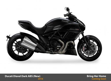 Ducati Diavel Dark ABS 2016 (New)
