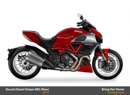 Ducati Diavel Stripe ABS 2016 (New)
