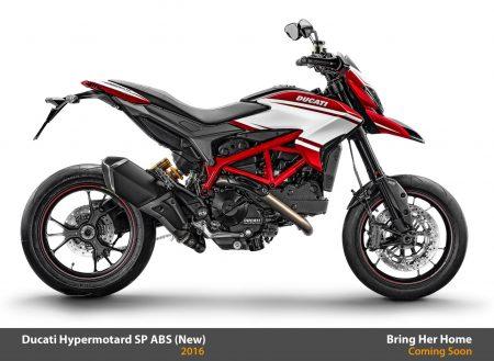 Ducati Hypermotard SP ABS 2016 (New)