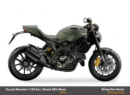 Ducati Monster 1100 Evo Diesel ABS 2016 (New)