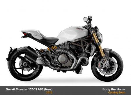 Ducati Monster 1200S ABS 2016 (New)