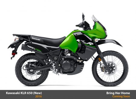 Kawasaki KLR 650 2016 (New)