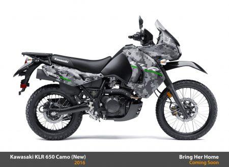 Kawasaki KLR650 Camo 2016 (New)