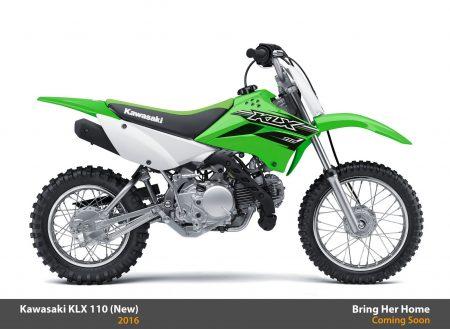 Kawasaki KLX 110 2016 (New)