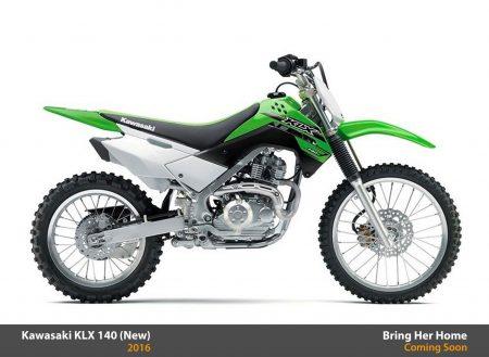 Kawasaki KLX 140 2016 (New)