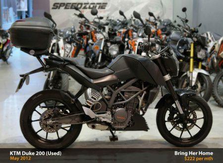 KTM Duke 200 (Used)