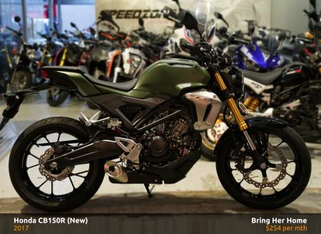 Honda CB150R 2017 (New)