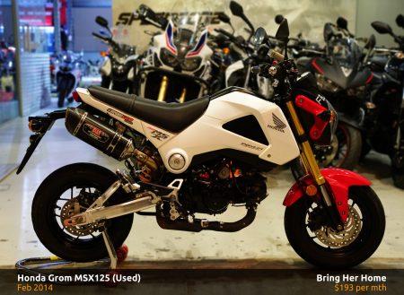 Honda-Grom-MSX125-Used-2014