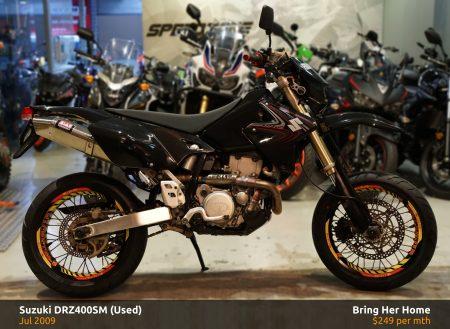 Suzuki-DRZ400SM-Used